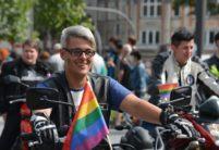 Manifestation pour la Journée de la Visibilité lesbienne