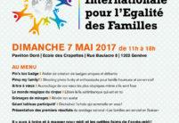 Venez célébrer la Journée Internationale pour l'Egalité des Familles à Genève