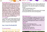 Appel pour projet universitaire: GPA pour les familles homoparentales