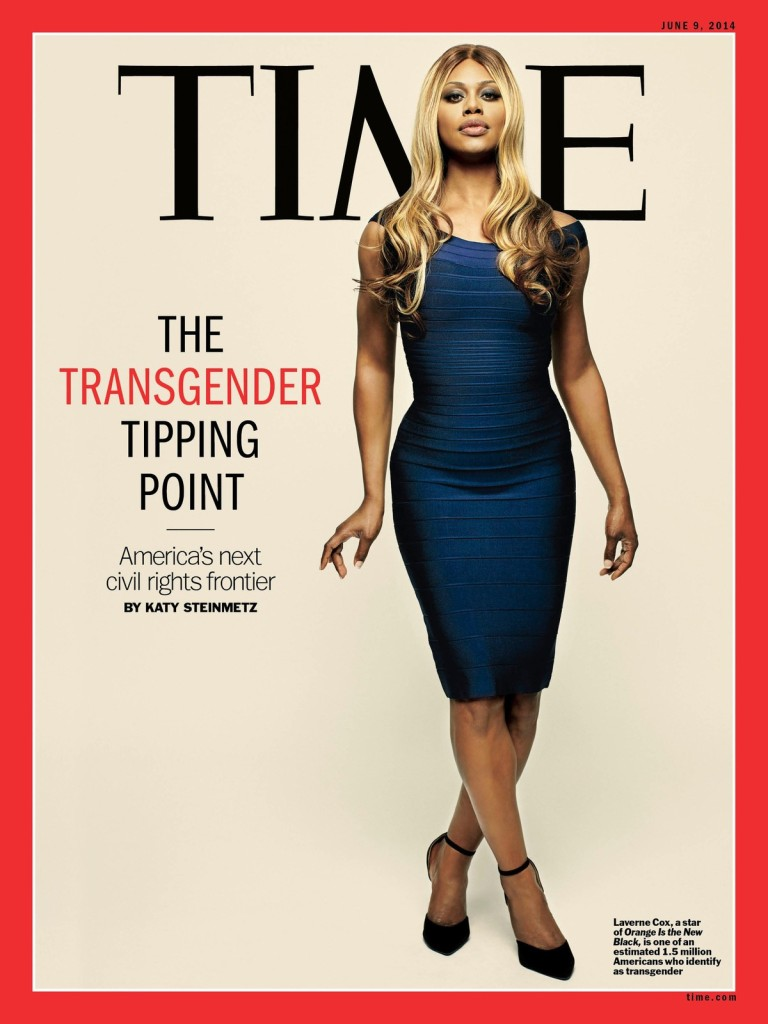 Laverne Cox - Couverture du Magazine Tme (Juin 2014)