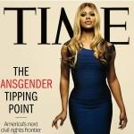 Laverne Cox en couverture du magazine Time (juin 2014)
