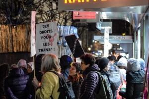 Manif' TDOR 2015 : Transgender Day of Remembrance /Journée du souvenir trans* - photos: Irina Popa