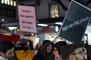 Manif' TDOR 2015 : Transgender Day of Remembrance / Journée du souvenir trans* - photos: Irina Popa