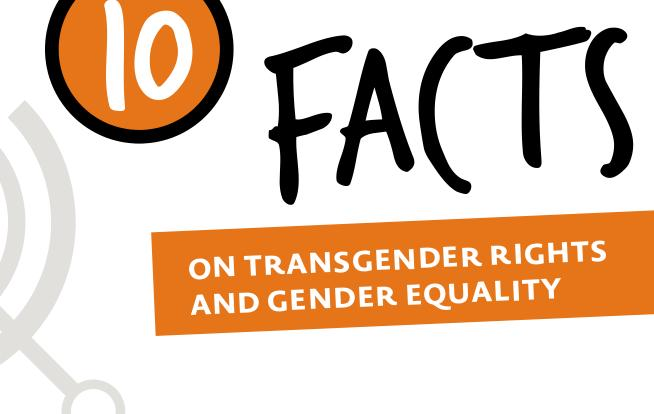 10 facts on transgender rights and gender equality