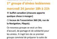 360 lance un groupe Femmes lesbiennes séniors