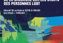 """Lancement de la brochure """"Droits des personnes LGBT"""""""