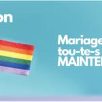 Signez la pétition: mariage pour tou.te.s MAINTENANT!
