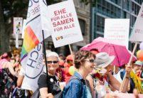 Action «Jouons la sécurité : mariage civil pour toutes et tous – all inclusive!»