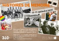 Atelier Histoires de mémoire: Encore quelques places!