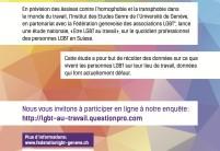 Etre LGBT au travail – Participez à notre enquête !